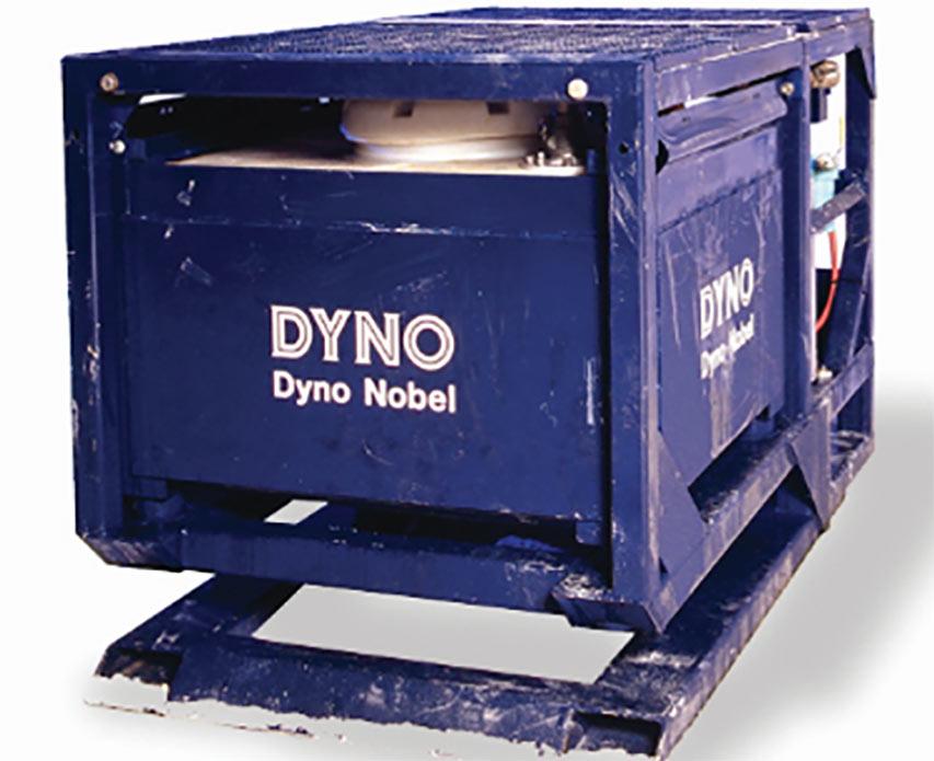 DynoMiner APS loading unit