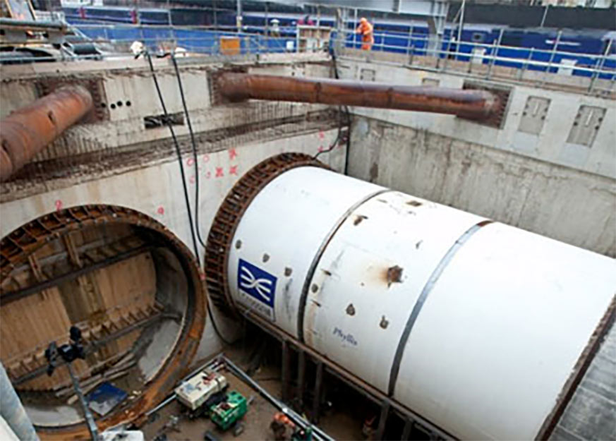 First TBM launch in May 2012