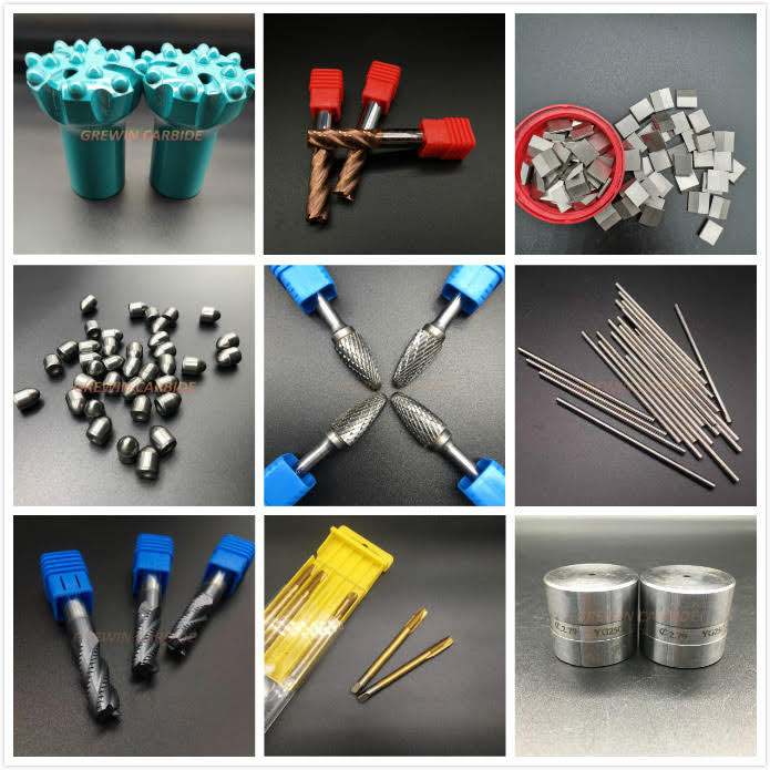 Selection of GW carbide drill bits