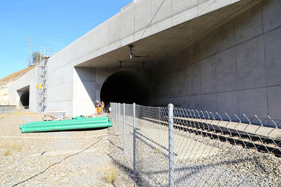 Access portal at Raron