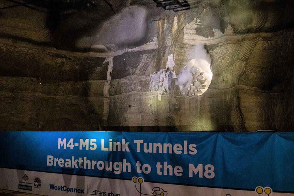 Roadheaders breakthrough on M4-M5 link
