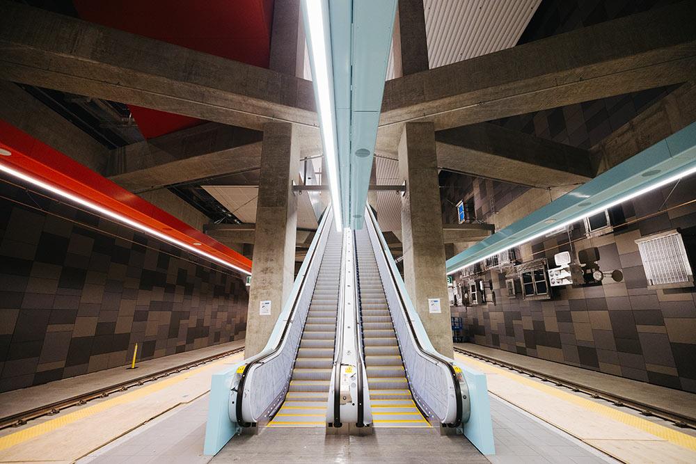 New underground University District Station