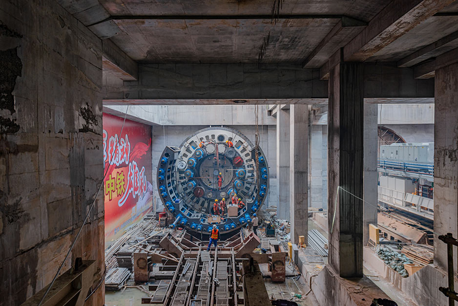Five months for on-site first time TBM assembly