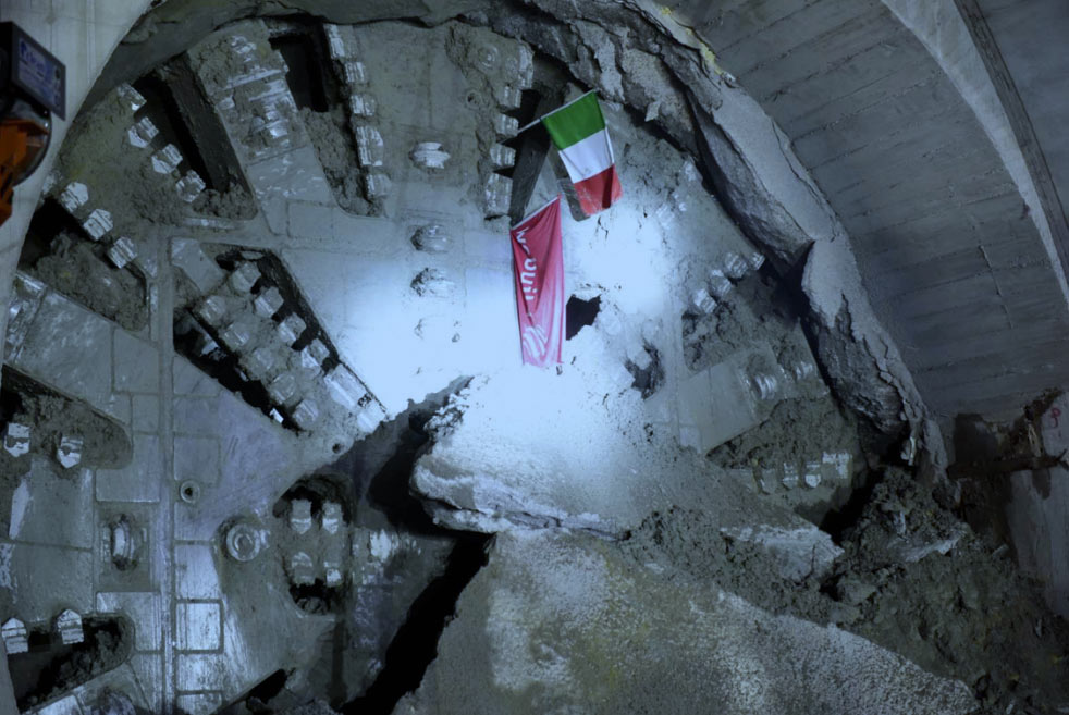 Last breakthrough of the four 10m diameter EPBMs on the project