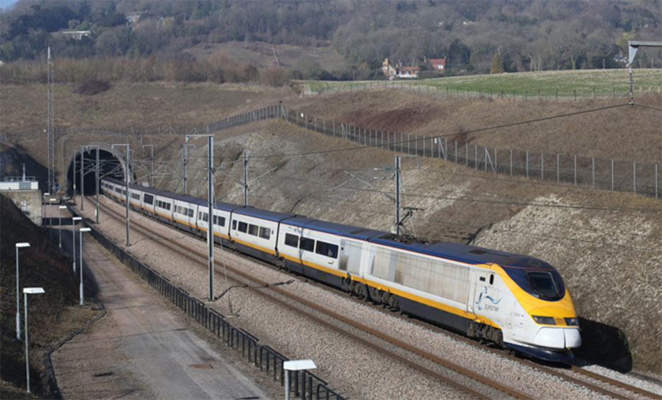 NATM was applied expertly with Beton- und Monierbau on the North Downs tunnel on the Channel Tunnel rail link in UK in 1998