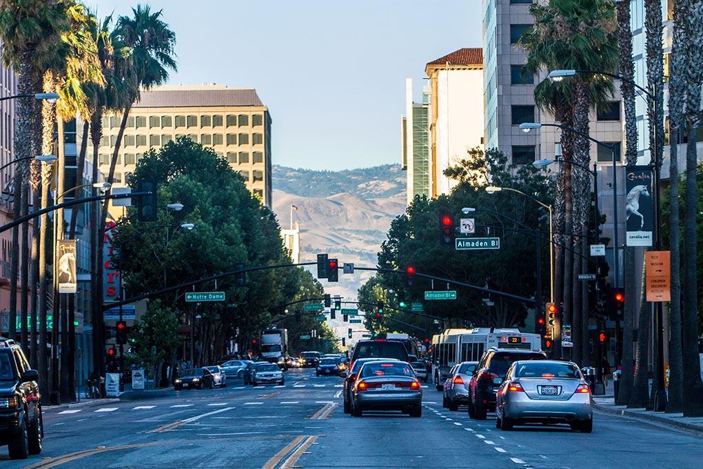 The extension will run under Santa Clara Street in downtown San Jose