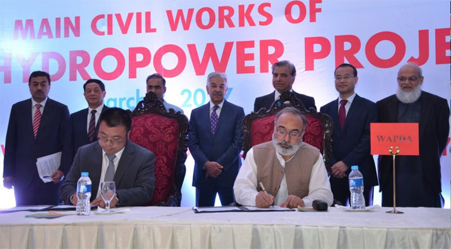 Contracts signed for Dasu hydro project