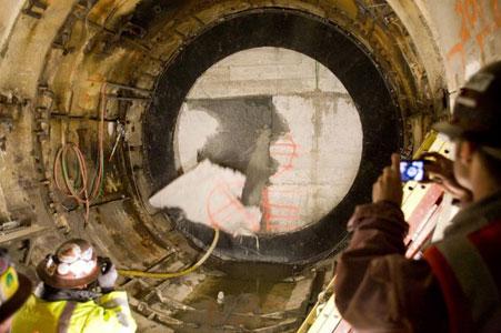 Lovat TBM breaks through shell of stranded TBM