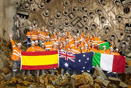 International team celebrates final breakthrough in Brisbane