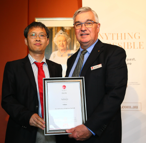 In January 2019 Liu (left) was elected a Fellow of Engineers Australia