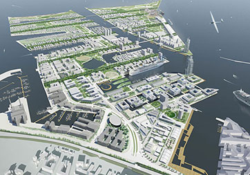 Fig 3. 200 hectare North Harbour development