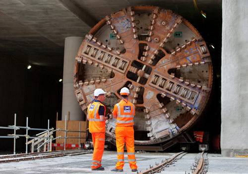 TBM Sophia will erect segments featuring embedded fibre optics sensors