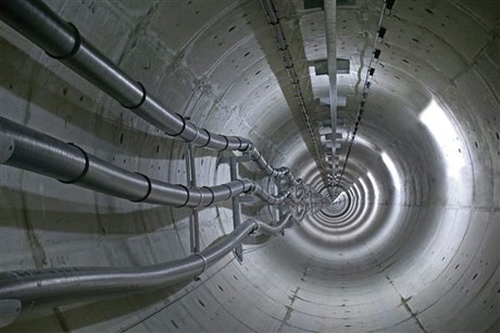 Fibre optic sensors installed in London cable tunnels