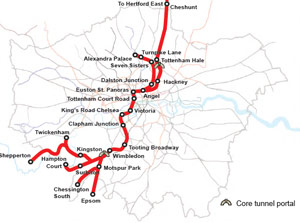 Crossrail 2 - Option B