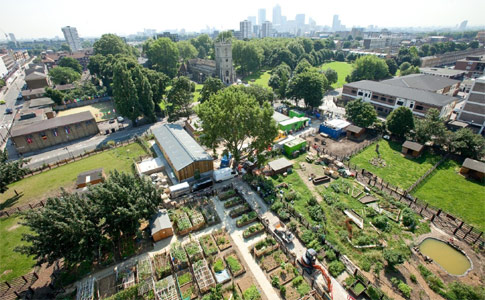 SCL cavern excavation will extend under the city farm and its new buildings
