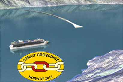 strait crossing norway
