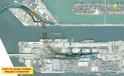 The undersea port link highway is due to open in 2014