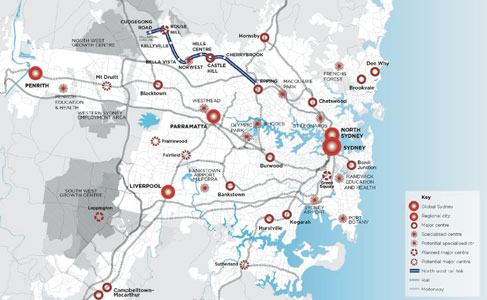 New line links Sydney's north west to the centre