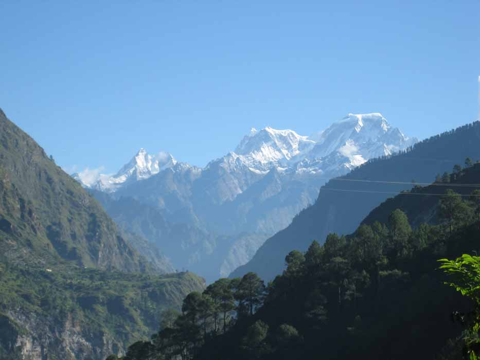 Pic5-Hydropower country: The Dhauliganga Valley in the Himalayas