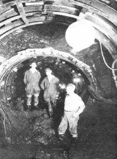 Existing tunnels built in 1937 and 1958