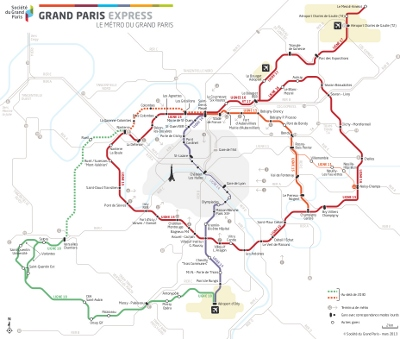 Grand Paris Express vision