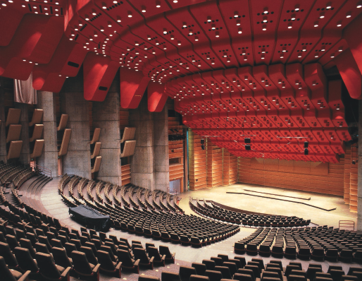 Edvard Grieg Hall conference venue